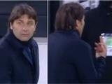 Антонио Конте извинился за показанный средний палец в адрес президента «Ювентуса» (ФОТО)