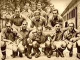 Поблизу з командою Басків. 1937 рік.