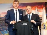 Андрей Лунин официально представлен в качестве игрока мадридского «Реала» (ФОТО, ВИДЕО)