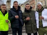 Динамовцы встретили Рождество во Львове