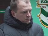 Вице-президент «Ворсклы» Лысак: «Нам нужен центральный защитник»