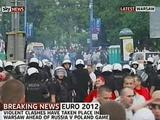 В ходе беспорядков в Варшаве были задержаны 56 болельщиков