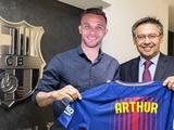 Официально: Артур — игрок «Барселоны»