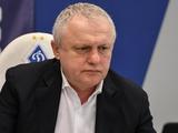 Игорь Суркис: «Требую, чтобы была дана оценка оскорблениям Лучи в мой адрес»