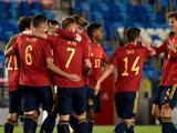 Сборная Испании продлила серию без поражений до 15 матчей