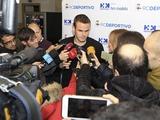 Максим Коваль: «Если «Депортиво» останется в примере на следующий сезон, то выкупит мой контракт у «Динамо» (ВИДЕО)