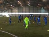 Яя Туре на базе «Динамо» провел тренировку с детьми (ФОТО)