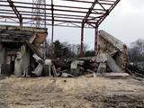 На стадионе «Вереса» обвалилась трибуна (ФОТО)