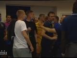 После матча «Львов» — «Днепр-1» в подтрибунном помещении произошла потасовка между игроками и тренерами команд (ФОТО)