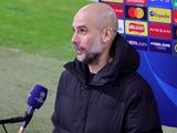 Лига чемпионов. «Манчестер Сити» — «Боруссия» М — 2:0, после матча. Гвардиола: «Если ты проходишь дальше, значит заслужил»