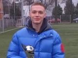Виктор Цыганков получил приз лучшему футболисту чемпионата Украины-2020 (ФОТО, ВИДЕО)
