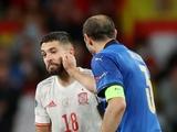 «Лжец». Капитан сборной Италии пытался вывести соперника из себя перед серией пенальти?