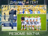ВИДЕО: Резюме матча «Динамо» — «Гент», оценки игрокам