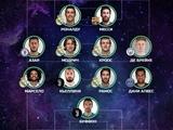 Стала известна символическая сборная 2017 года по версии читателей УЕФА