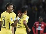 Неймар отметился дебютным голом в первом же матче за ПСЖ (ВИДЕО)