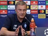 Александр Хацкевич: «В матче с «Аяксом» нам нужны агрессия и прессинг с первых минут игры»