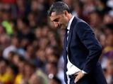 Вальверде расплакался во время прощания с игроками «Барселоны»
