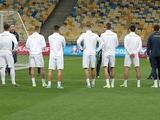 ВИДЕО: открытая тренировка сборной Украины на «Олимпийском» за день до матча со сборной Португалии