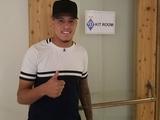 Сидклей прибыл на сбор «Динамо» в Австрии (ФОТО)