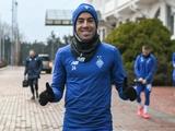 Карлос де Пена прибыл в Киев и уже тренировался с «Динамо»