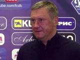 Александр Хацкевич: «Я желаю «Мариуполю», чтобы они во всех матчах играли так же активно и агрессивно»