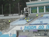 На стадионе «Динамо» проводится капитальный ремонт