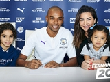 Фернандиньо продлил контракт с «Манчестер Сити»