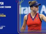Элина Свитолина вышла в четвертьфинал US Open, обыграв двукратную чемпионку турниров Большого шлема