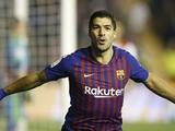 Луис Суарес вошел в пятерку лучших бомбардиров в истории «Барселоны»