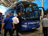 «Динамо» прибыло в Одессу в составе 21 футболиста (ВИДЕО)