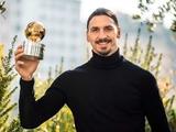 Ибрагимович признан игроком года в Швеции в 12-й раз