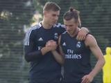 Лунин провел первую тренировку в «Реале» (ФОТО, ВИДЕО)