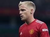 Ван де Бек хочет покинуть «Манчестер Юнайтед»