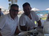Шевченко отдыхает с Тассотти и Малдерой на юге Италии