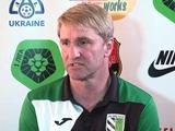 Наставник «Полтавы»: «На первом этапе нам нужно удержаться в Премьер-лиге»