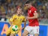 Сборная Украины разошлась миром со сборной Англии