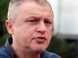 Игорь Суркис: «Наша игра еще далека от идеала. Луческу это понимает и потому при счете 4:0 не садится на скамейку»