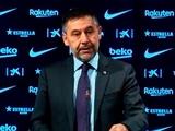Президент «Барселоны»: «Ни разу не думал об отставке. Мы строим отличный проект»