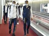 Сборная Украины прибыла во Францию (СПИСОК ИГРОКОВ)