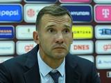Чехия — Украина — 1:2. Послематчевая пресс-конференция