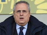 Президент «Лацио»: «Согласился бы на чемпионский матч против «Ювентуса»