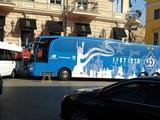 В новый сезон - на новом автобусе. В Динамо Киев обновили дизайн клубного автобуса
