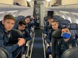 Молодежная сборная Украины улетела в Белфаст без Вантуха, но с Ледневым и Русиным
