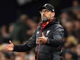 Юрген Клопп: «Ливерпуль» неидеален, даже не близок к этому»