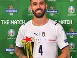 Леонардо Спинаццола — лучший игрок матча Турция — Италия