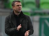 Сергей Ребров: «Могли заканчивать игру в первом тайме»