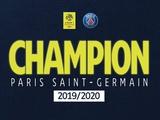 Официально. ПСЖ — чемпион Франции сезона-2019/20