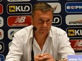 «Динамо» — «Карпаты» — 0:2. Пресс-конференция. Хацкевич: «Я для себя решение принял и поблагодарил ребят»