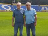 Игорь Суркис и Мирча Луческу посетили матч Украина U-21 — Румыния U-21