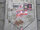 Болельщики «Атлетико» испортили табличку Гризманна после его перехода в «Барселону» (ФОТО)